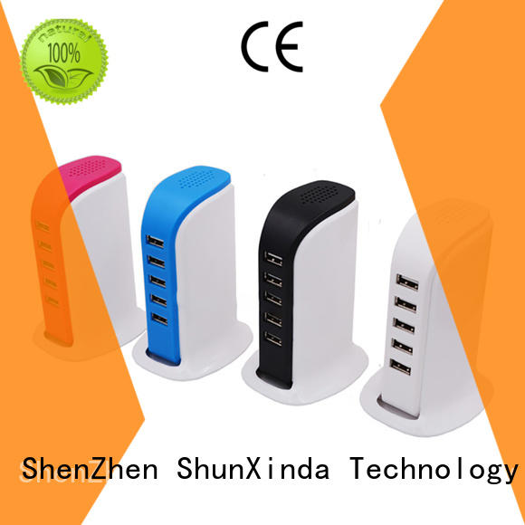 Portable 5 usb ports power adapter 5V 6A charger ,travel usb charger SXD 082