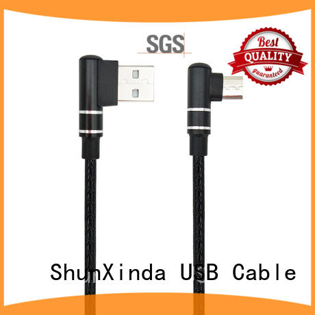 odm fabric long micro usb cable ShunXinda manufacture
