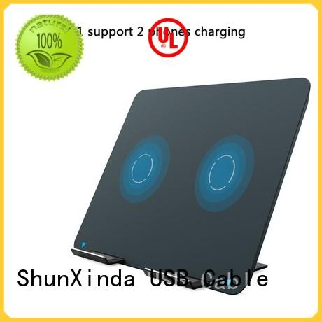 ShunXinda dual wireless cell phone charger for sale for car