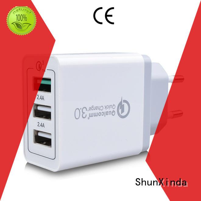 ports usb power ShunXinda Brand usb wall charger factory