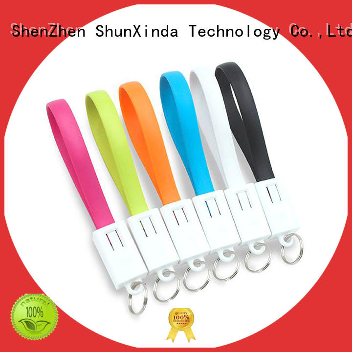 ShunXinda Top usb cable with multiple ends factory for car