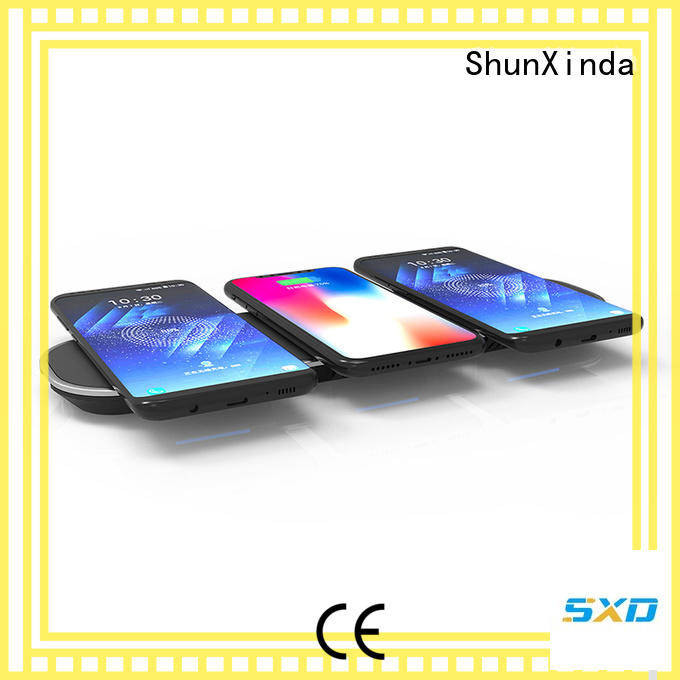 ShunXinda online wireless mobile charger factory for car