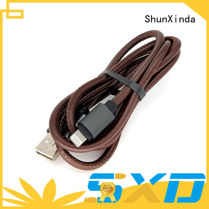 necklace newest ShunXinda Brand iphone usb cable oem factory