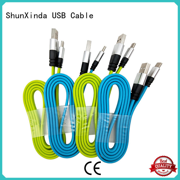 ShunXinda fast cable usb c company for car