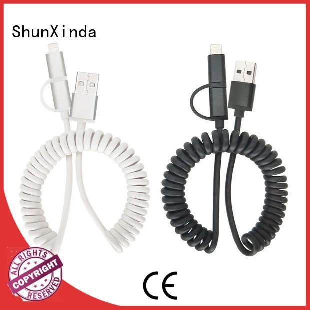 android retractable charging cable portable ShunXinda company