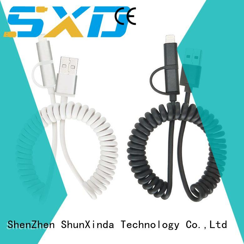 ShunXinda Best usb cable with multiple ends factory for car