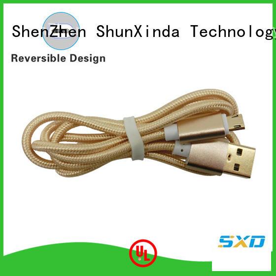 holder spring micro design usb to micro usb ShunXinda Brand company