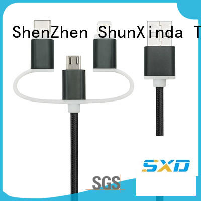 ShunXinda dual multi phone charging cable for sale for indoor