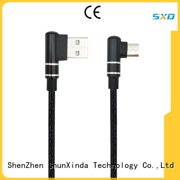 customized cable micro usb nylon manufacturers for car