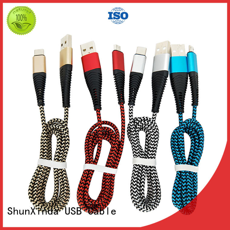 ShunXinda charger iphone cord supply for car