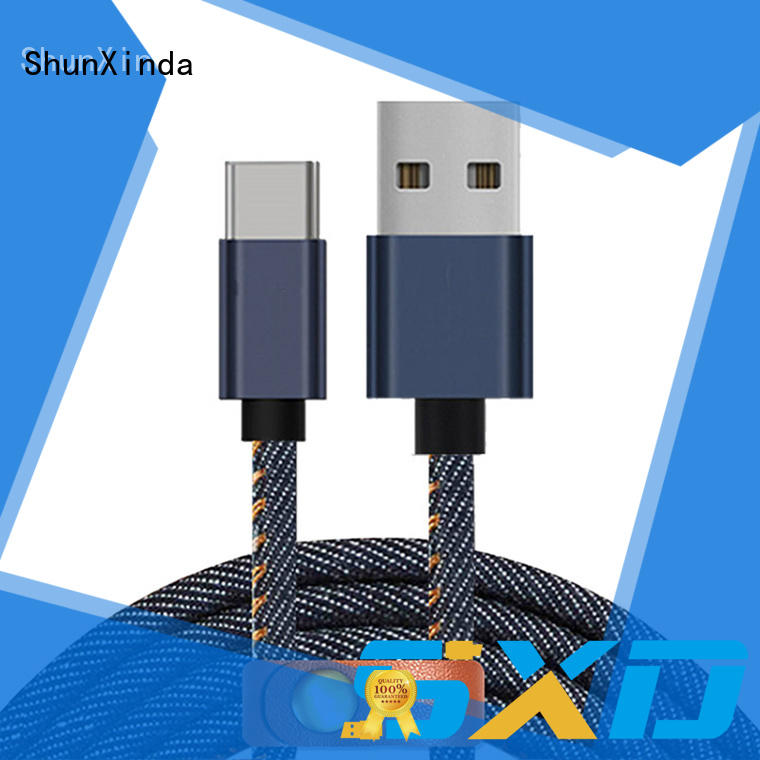 ShunXinda zinc best usb c cable manufacturers for indoor
