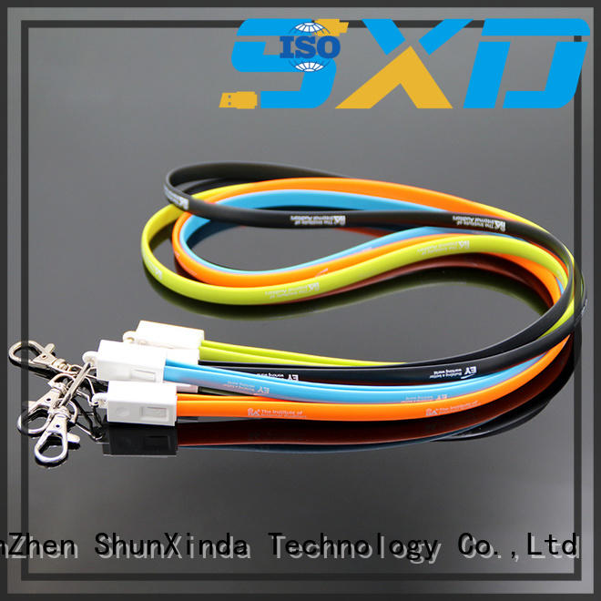 sync retractable charging cable phone braided ShunXinda Brand
