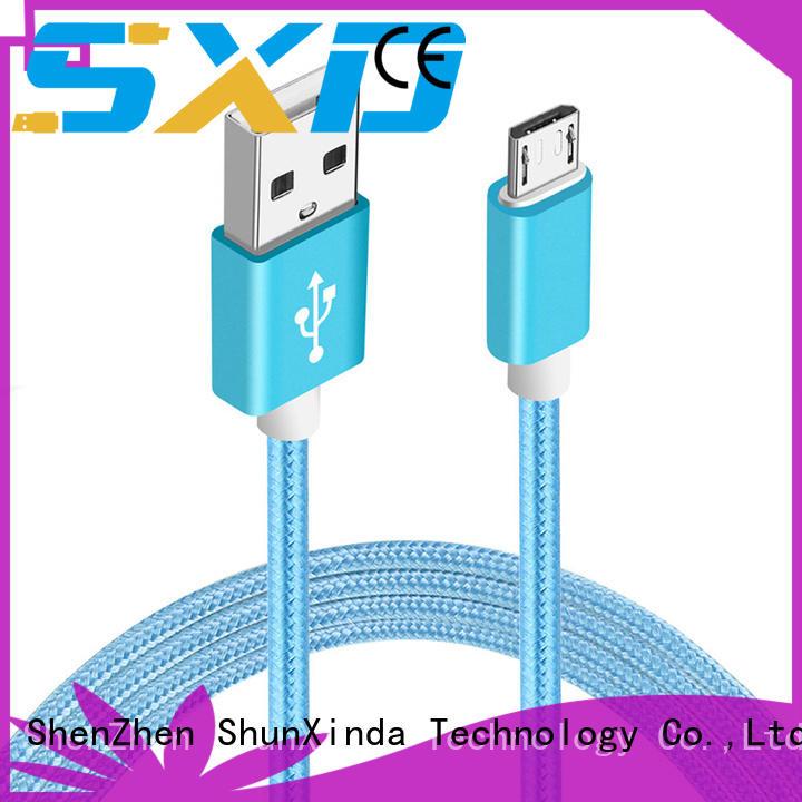 ShunXinda angle micro usb cord for business for indoor