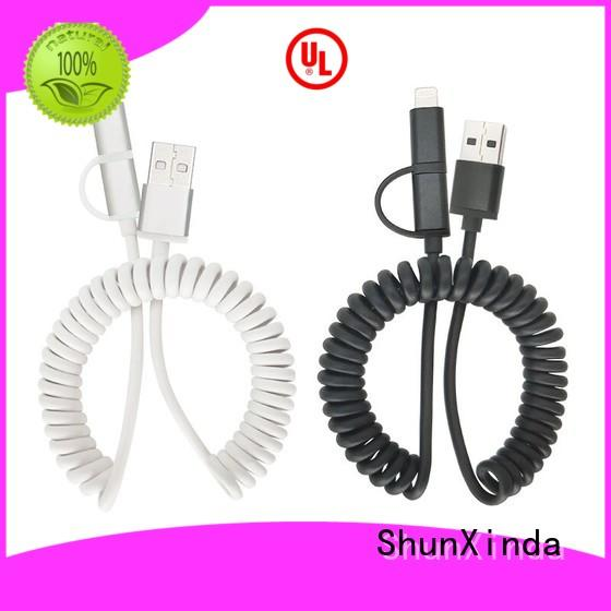 ShunXinda functional multi device charging cable supply for car