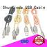 flowing nylon OEM iphone cord ShunXinda