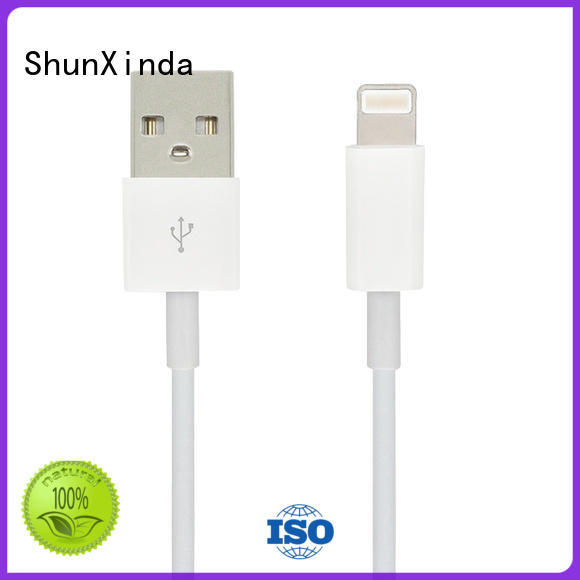 necklace cable fast ShunXinda Brand iphone usb cable oem manufacture