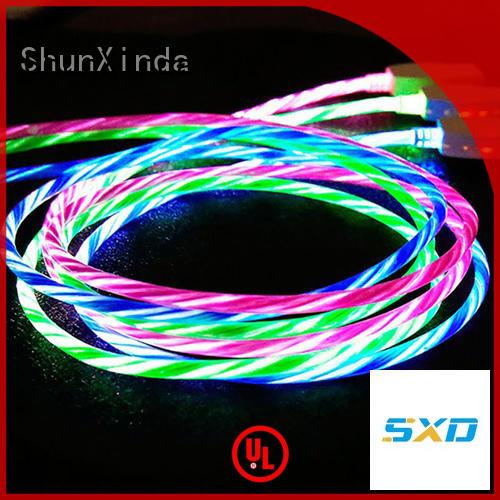 iphone usb cable oem iphone pu iphone cord ShunXinda Brand