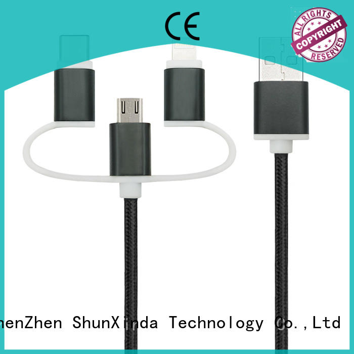 ShunXinda pu multi charger cable company for indoor