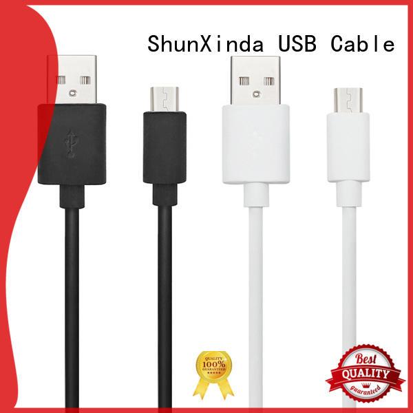 ShunXinda Top usb to micro usb supply for indoor