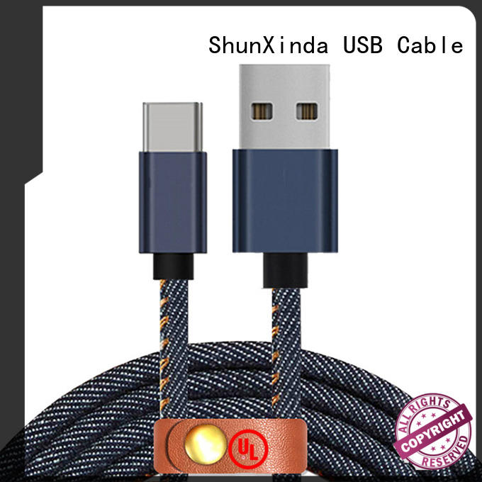 ShunXinda braided apple usb c cable supplier for car