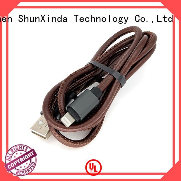 sync usb iphone cord flowing usb data ShunXinda company