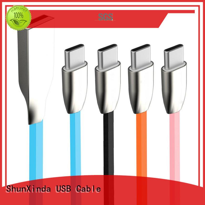 Custom macbook type type C to type C ShunXinda charger