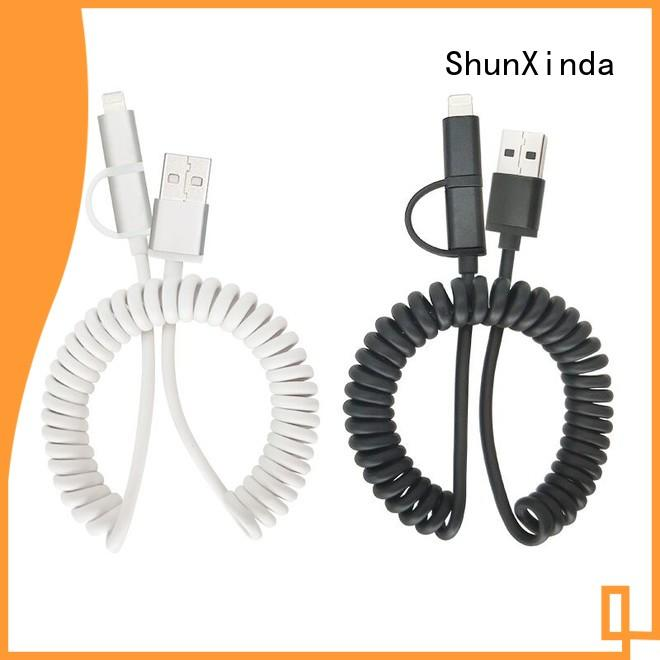 charging usb cable with multiple ends manufacturer for home