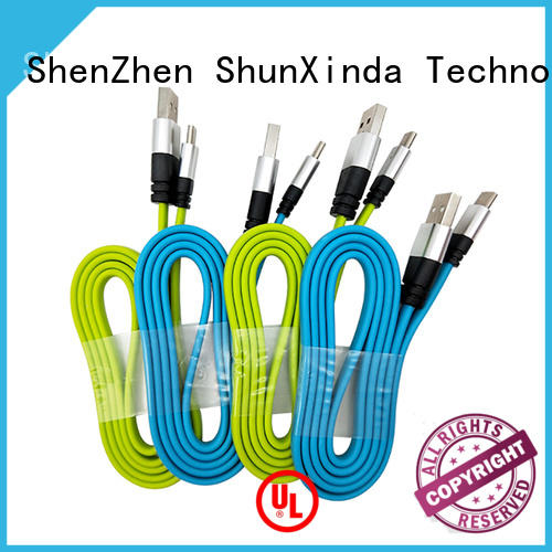ShunXinda flat cable usb c manufacturers for indoor