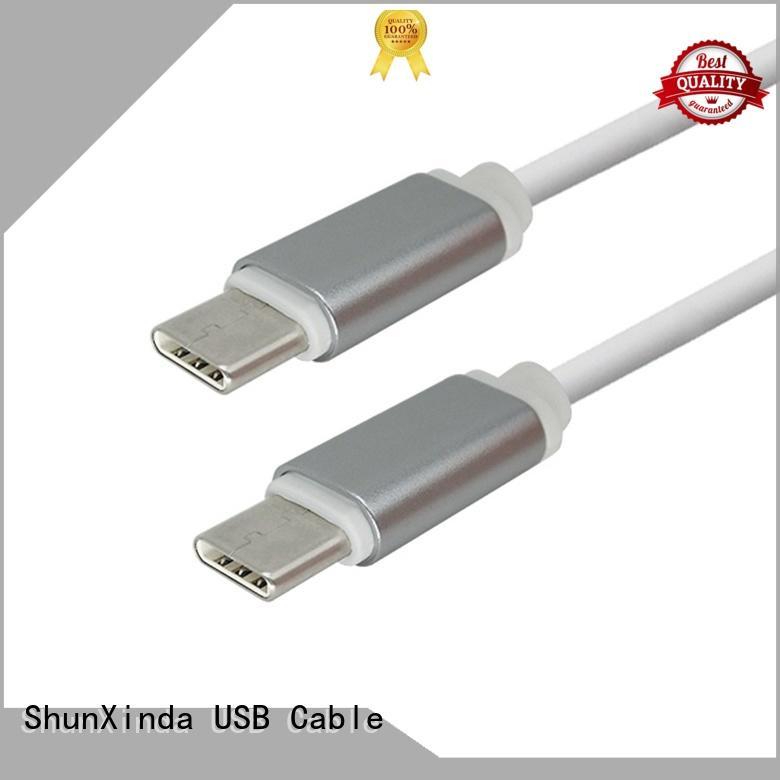 type c usb cable flat ShunXinda Brand type C to type C