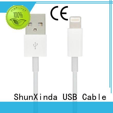 ShunXinda Brand pin apple braided transfer iphone cord