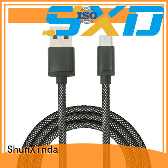 long micro usb cable degree usb to micro usb ShunXinda Brand