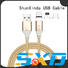 retractable charging cable promotional functional cloth multi charger cable manufacture