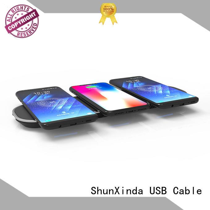 ShunXinda Brand dual holder wireless samsung wireless iphone