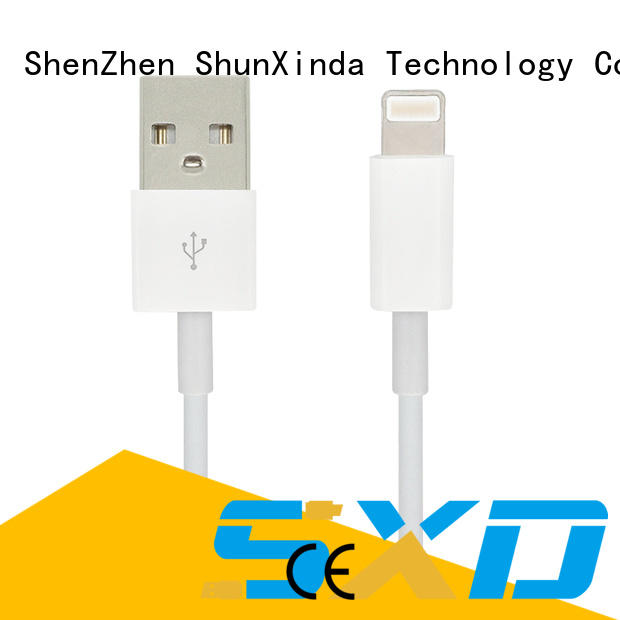 ShunXinda Brand fast apple iphone usb cable oem usb supplier
