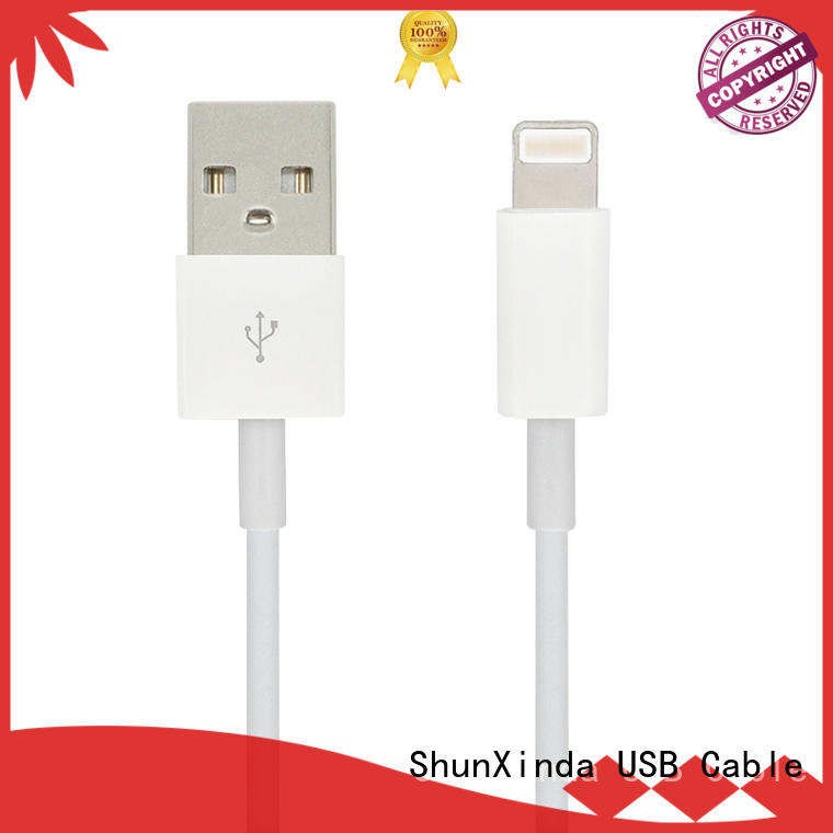 Wholesale spring usb data iphone cord ShunXinda Brand