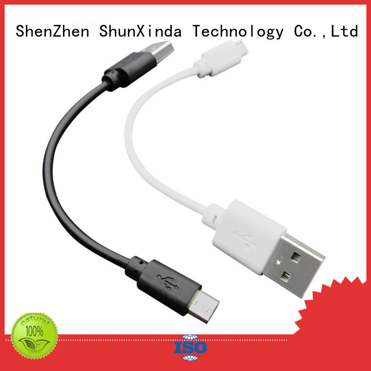 ShunXinda braided Type C usb cable wholesale for car