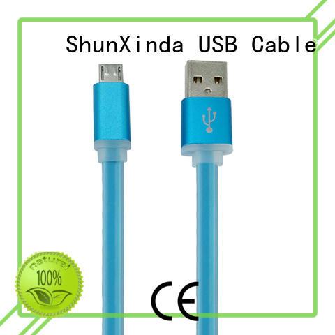 odm newest long micro usb cable ShunXinda Brand