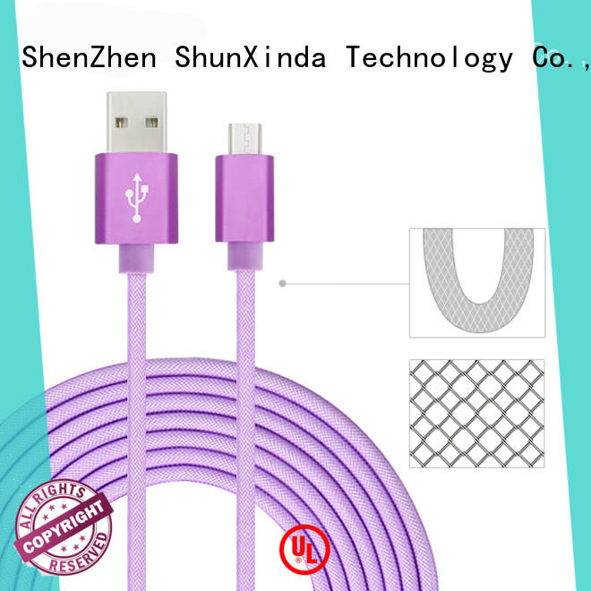 ShunXinda High-quality fast charging usb cable company for indoor