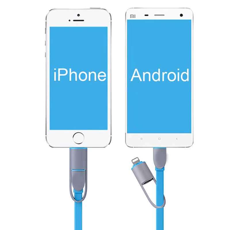 ShunXinda -2 In 1 Charging CableLightning Micro Usb Data Cable| Shunxinda-7