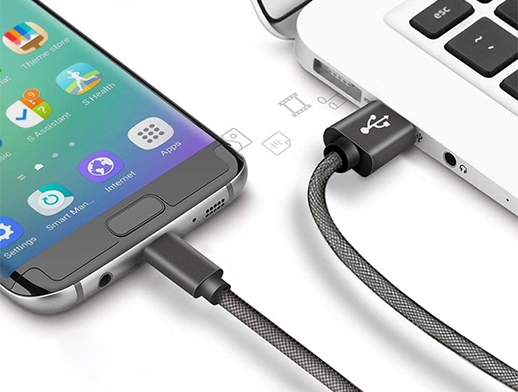 ShunXinda -Fast Charging Usb Cable 5v 3a Fast Charging Fishnet-4