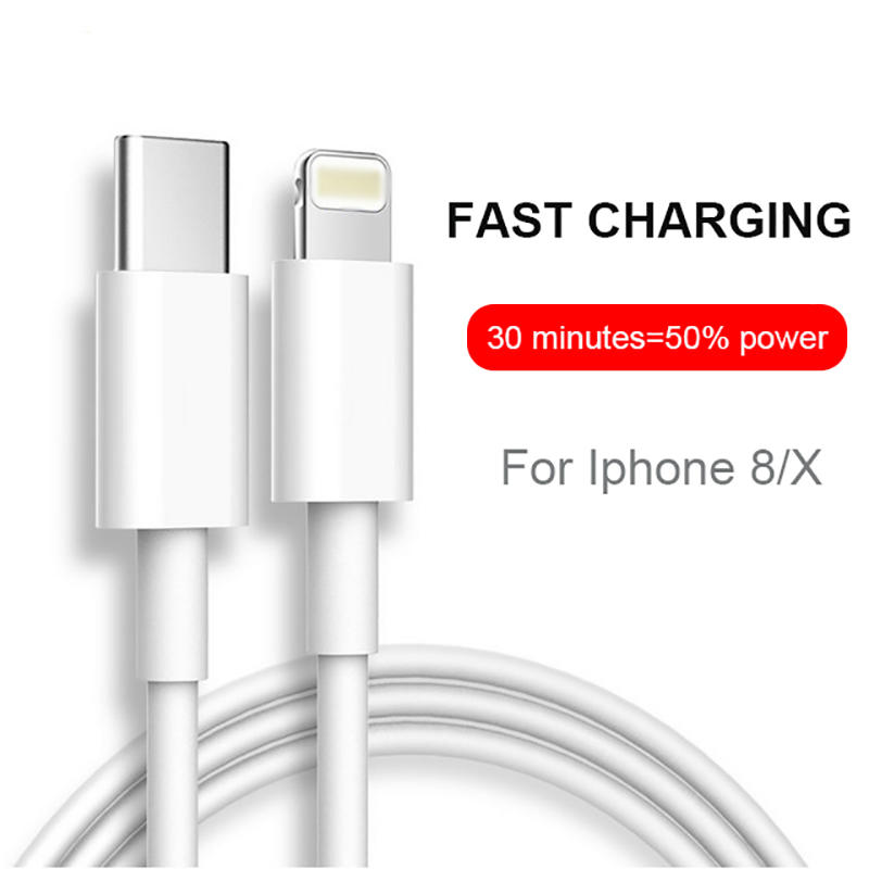 Fast charging Iphone to Type C PD charger cable SXD147