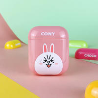 Line friends PC airpods cover case for airpods 1&2