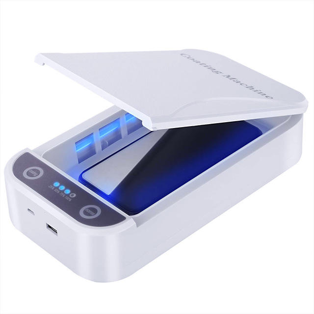 Portable 6.5 inch UV mask sterilizer Box for Personal Mask Phone watch SXD201