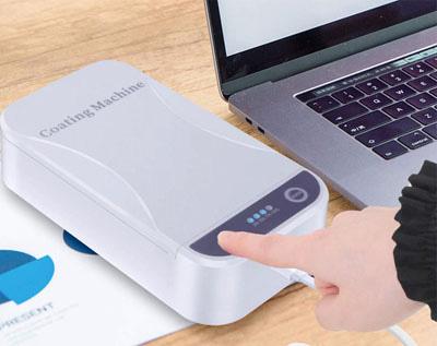 product-ShunXinda -Portable 65 inch UV mask sterilizer Box for Personal Mask Phone watch SXD201-img