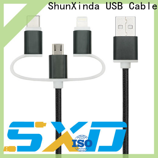 ShunXinda data usb cable with multiple ends manufacturers for home