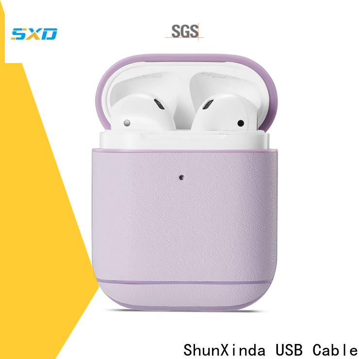 ShunXinda apple airpods case cover manufacturers for charging case