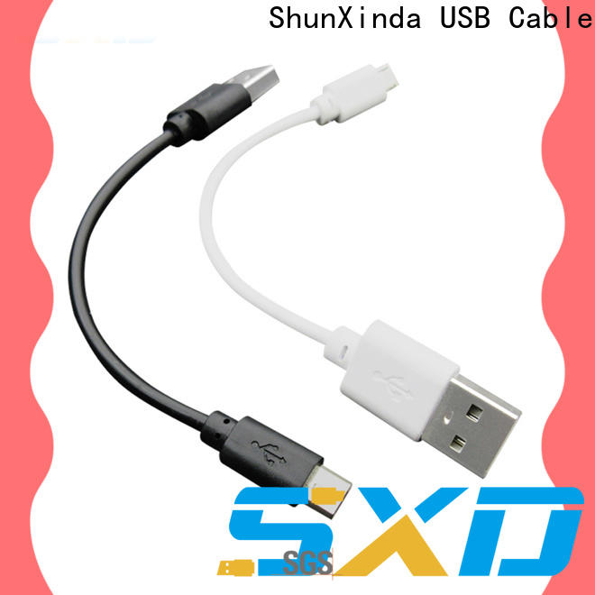 ShunXinda angle usb to micro usb company for car
