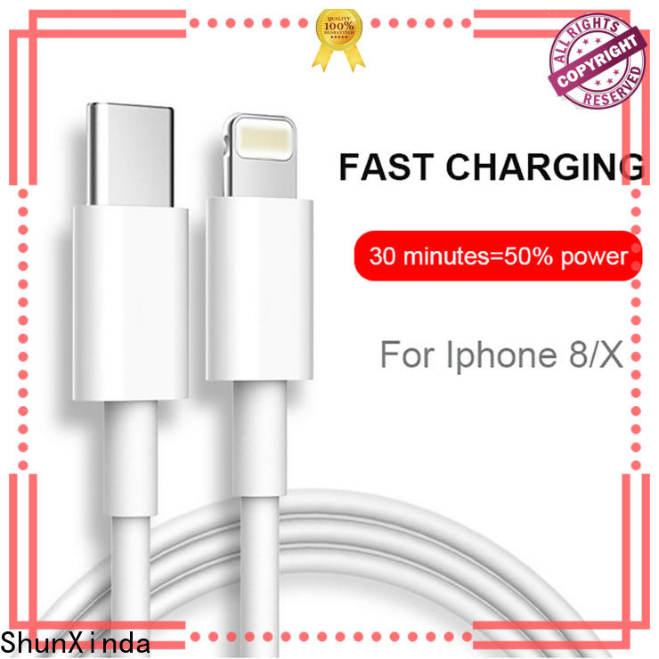 ShunXinda metal apple charger cable for sale for car