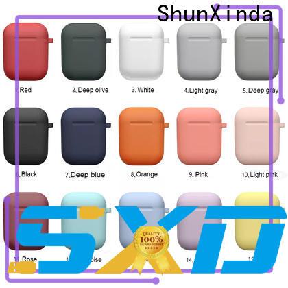 ShunXinda Custom leather airpods case manufacturers for earphone