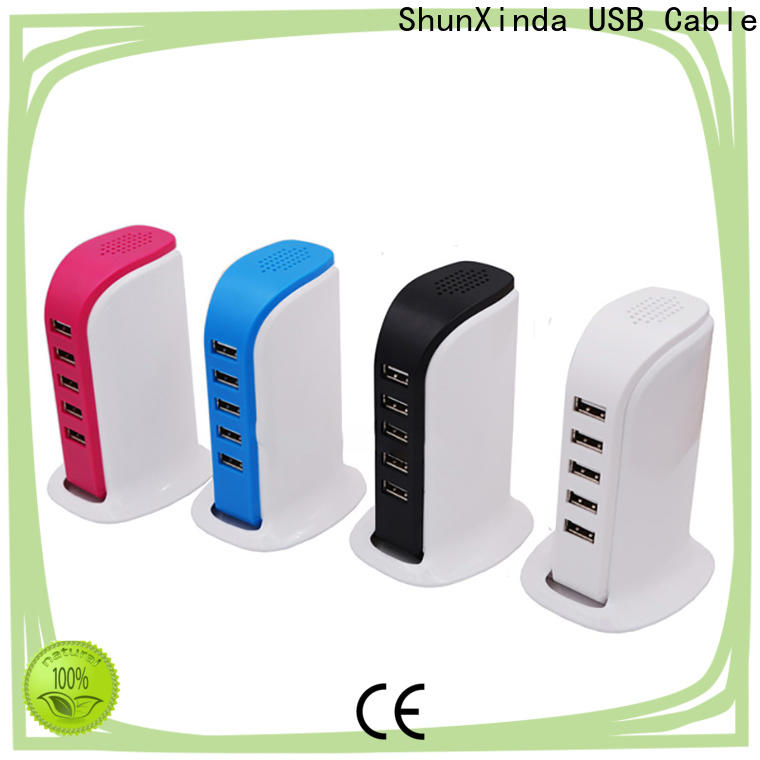 ShunXinda wall usb fast charger suppliers for home